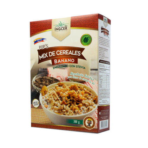 cereal ingcer mix de cereales y banano