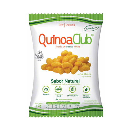 snack quinua club natural