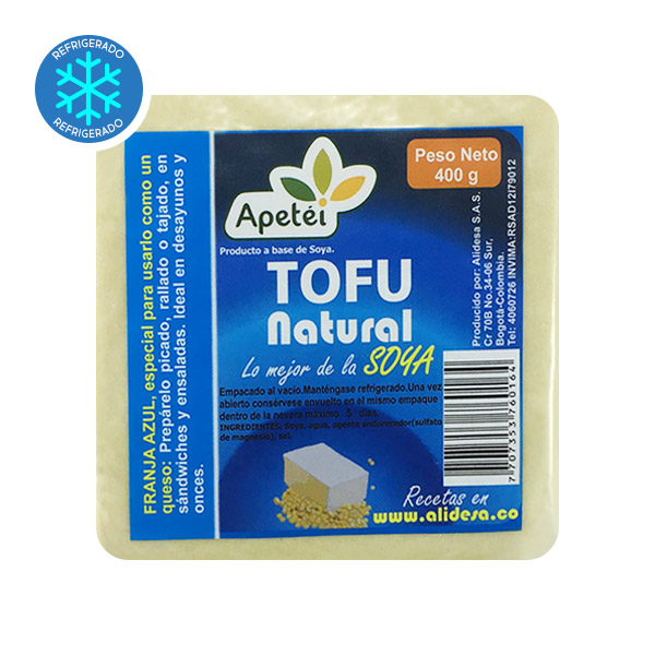 tofu apetei natural