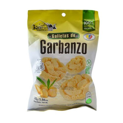galletas de garbanzo Karavansay